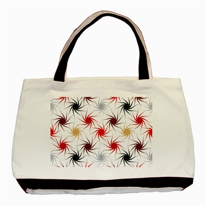 Pearly Pattern Basic Tote Bag