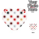 Pearly Pattern Playing Cards 54 (Heart)  Front - DiamondJ