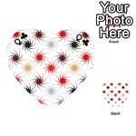 Pearly Pattern Playing Cards 54 (Heart)  Front - ClubQ