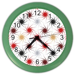 Pearly Pattern Color Wall Clocks