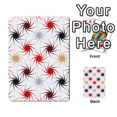 Pearly Pattern Multi-purpose Cards (Rectangle)