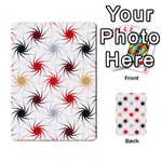 Pearly Pattern Multi-purpose Cards (Rectangle)  Front 2