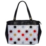 Pearly Pattern Office Handbags Front