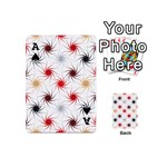 Pearly Pattern Playing Cards 54 (Mini)  Front - SpadeA
