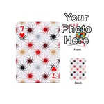 Pearly Pattern Playing Cards 54 (Mini)  Front - Heart7