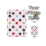 Pearly Pattern Playing Cards 54 (Mini)  Front - Club4