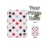 Pearly Pattern Playing Cards 54 (Mini)  Front - Spade10