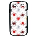 Pearly Pattern Samsung Galaxy S III Case (Black) Front