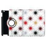 Pearly Pattern Apple iPad 2 Flip 360 Case Front
