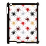 Pearly Pattern Apple iPad 3/4 Case (Black) Front