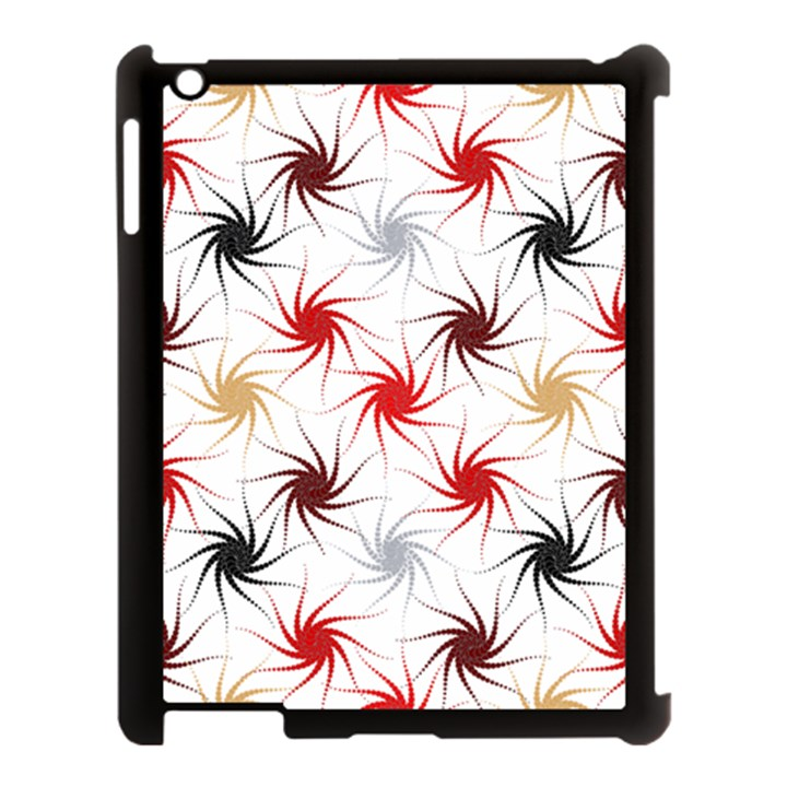 Pearly Pattern Apple iPad 3/4 Case (Black)