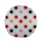 Pearly Pattern Standard 15  Premium Round Cushions Front
