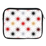 Pearly Pattern Apple iPad 2/3/4 Zipper Cases Front