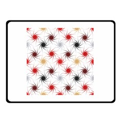 Pearly Pattern Double Sided Fleece Blanket (Small)