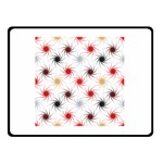 Pearly Pattern Double Sided Fleece Blanket (Small)  50 x40 Blanket Front