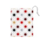 Pearly Pattern Drawstring Pouches (Medium)  Front