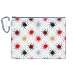 Pearly Pattern Canvas Cosmetic Bag (XL) Front