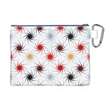 Pearly Pattern Canvas Cosmetic Bag (XL) Back