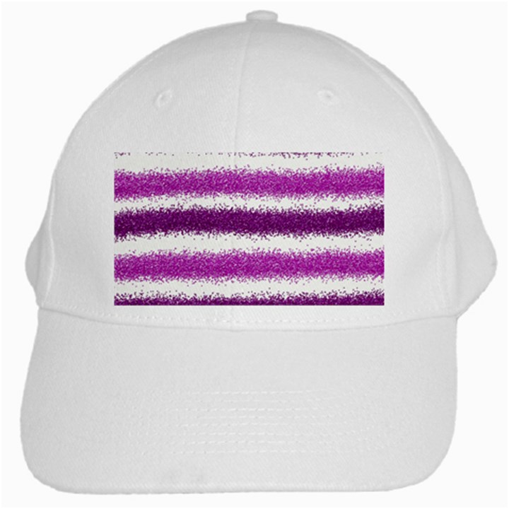 Pink Christmas Background White Cap