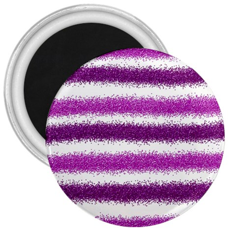 Pink Christmas Background 3  Magnets