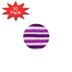 Pink Christmas Background 1  Mini Buttons (10 pack)