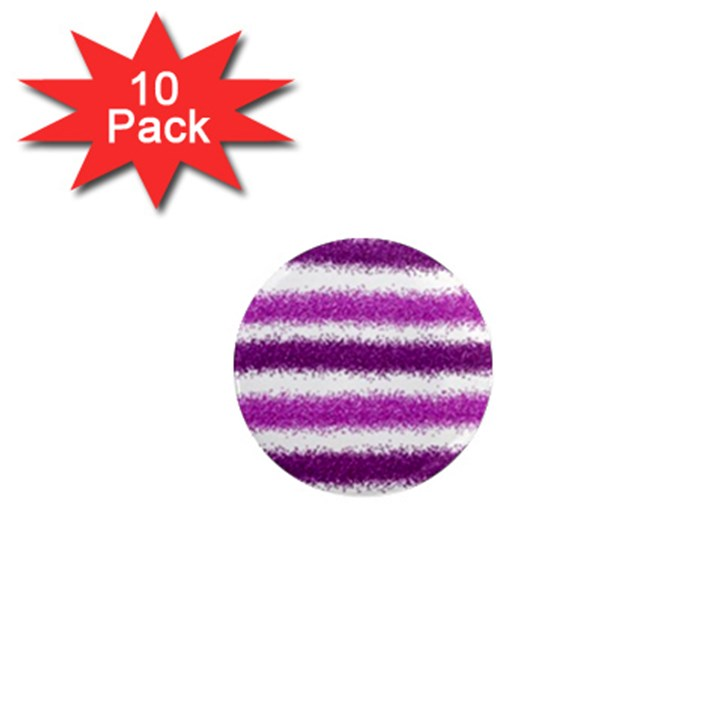 Pink Christmas Background 1  Mini Magnet (10 pack)