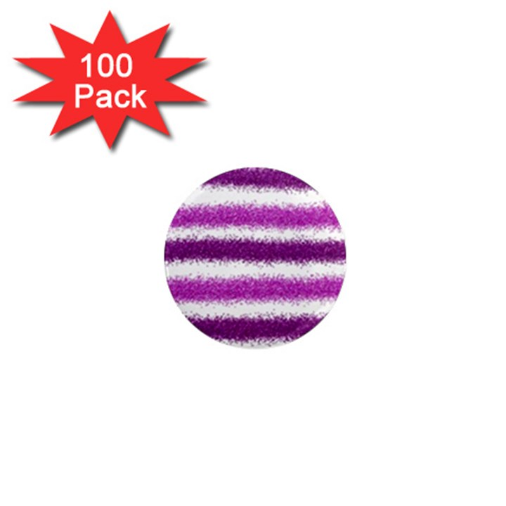 Pink Christmas Background 1  Mini Magnets (100 pack)