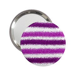 Pink Christmas Background 2.25  Handbag Mirrors