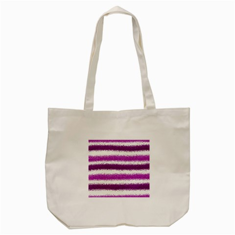 Pink Christmas Background Tote Bag (Cream)