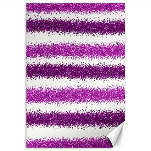 Pink Christmas Background Canvas 12  x 18