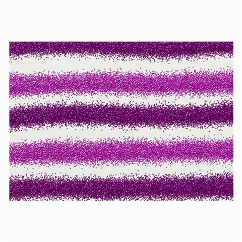 Pink Christmas Background Large Glasses Cloth (2-Side)