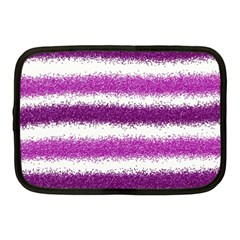 Pink Christmas Background Netbook Case (Medium)