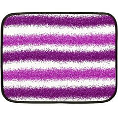 Pink Christmas Background Double Sided Fleece Blanket (Mini)
