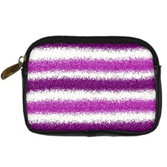 Pink Christmas Background Digital Camera Cases