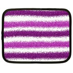 Pink Christmas Background Netbook Case (XL)  Front