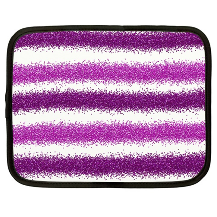 Pink Christmas Background Netbook Case (XL)