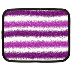 Pink Christmas Background Netbook Case (XXL)