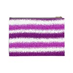 Pink Christmas Background Cosmetic Bag (Large)  Back