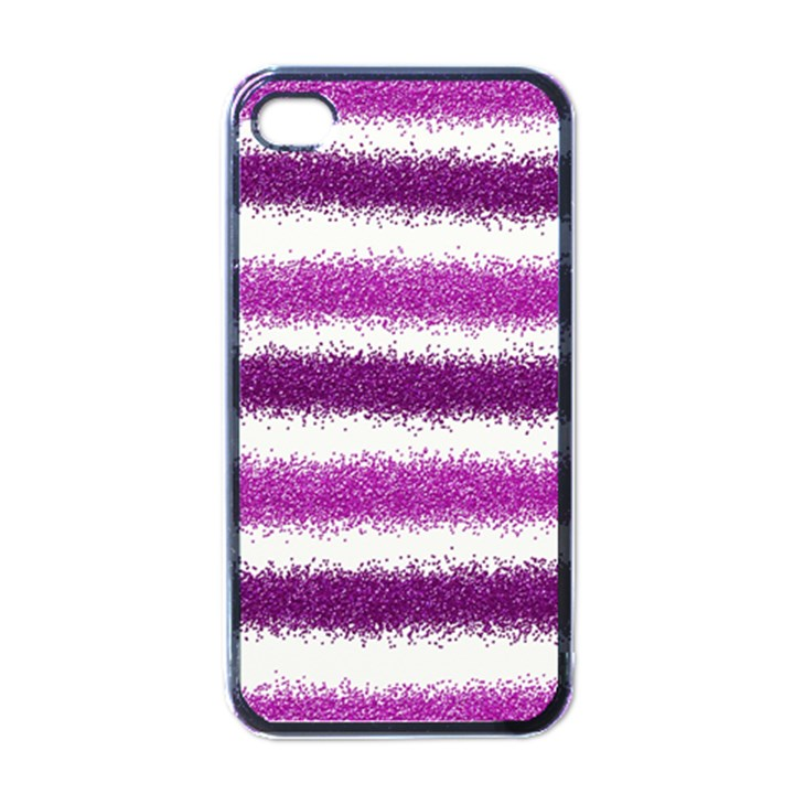 Pink Christmas Background Apple iPhone 4 Case (Black)