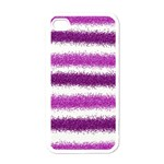 Pink Christmas Background Apple iPhone 4 Case (White) Front