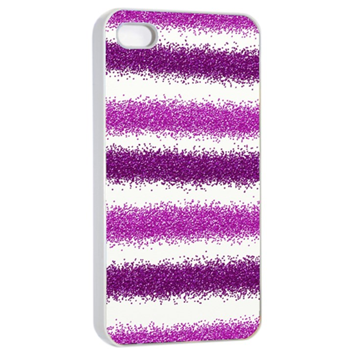 Pink Christmas Background Apple iPhone 4/4s Seamless Case (White)