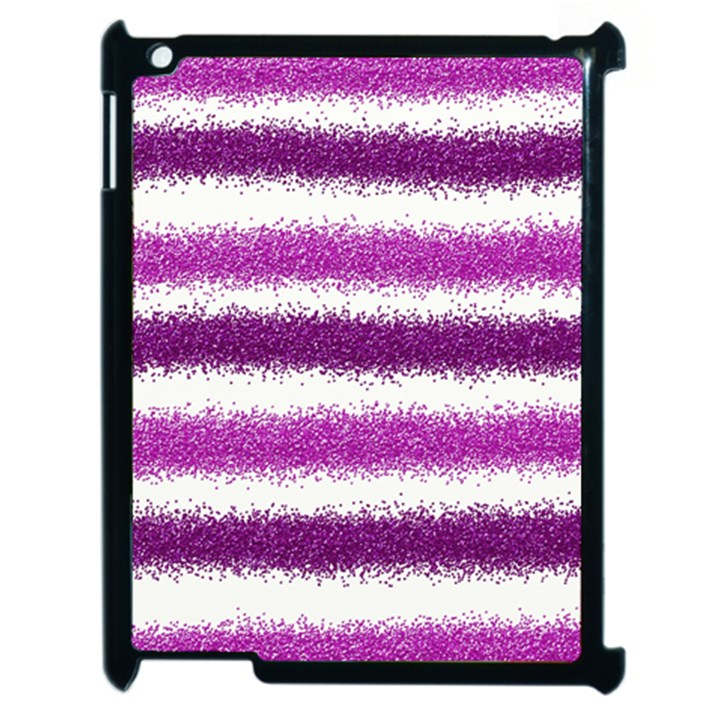 Pink Christmas Background Apple iPad 2 Case (Black)
