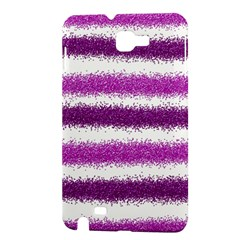 Pink Christmas Background Samsung Galaxy Note 1 Hardshell Case