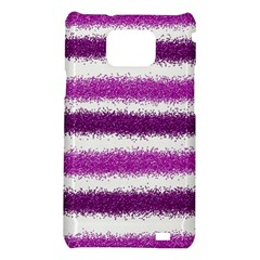 Pink Christmas Background Samsung Galaxy S2 i9100 Hardshell Case