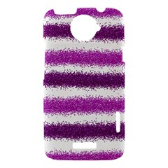 Pink Christmas Background HTC One X Hardshell Case