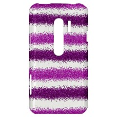 Pink Christmas Background HTC Evo 3D Hardshell Case