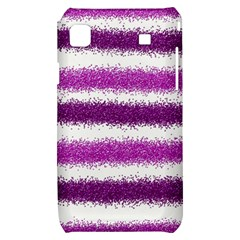Pink Christmas Background Samsung Galaxy S i9000 Hardshell Case