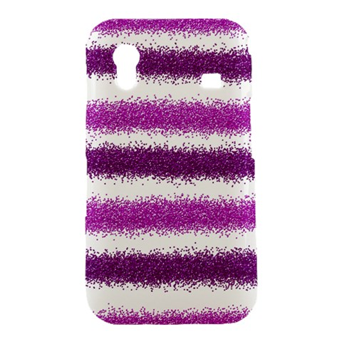 Pink Christmas Background Samsung Galaxy Ace S5830 Hardshell Case