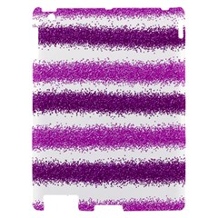 Pink Christmas Background Apple iPad 2 Hardshell Case