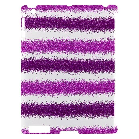 Pink Christmas Background Apple iPad 2 Hardshell Case (Compatible with Smart Cover)